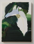 White Lightens the Deepest Shade, 2010 Oil on canvas 10 x 8 inches