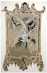 {museo de la inocencia} acrylic on paper, Galeria Jenny Vilá, 2010.