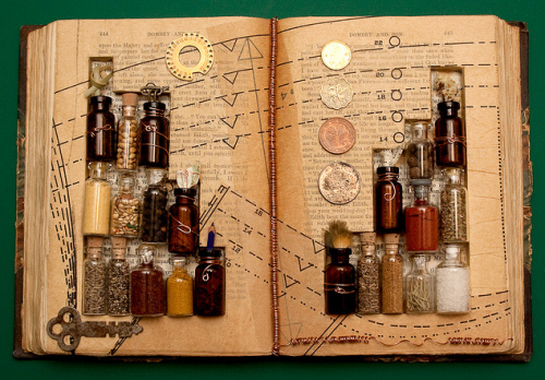 Altered Book: The Alchemy of Existence