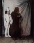 Studio. 2011. 50 x 40 cm. Oil on canvas-Alexander Tinei
