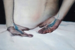 Empty hands. 2012. 40 x 60 cm. Oil on canvas -Alexander Tinei