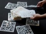 Stencils for QR Codes {Golan Levin}
