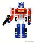 Brian Gubicza, Optimus Prime, Cut Paper