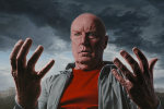 Introspection - Portrait of Ray Meagher, oil on canvas