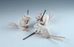 Erika Sanada, Devilish, Ceramic, glaze, 2012