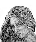 """Mother, Preserve My Innocence,"" Ink on Paper, Melanie Pruitt"