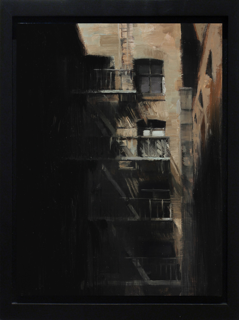 Kim Cogan Escaping Shadows Oil On Panel 2013 The 22