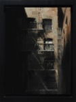 "Kim Cogan ""Escaping Shadows"" Oil on Panel 2013"