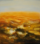 Philip Hunter, Flatlands No. 10, oil on linen, 152 x 137 cm, 2006