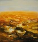Philip Hunter, Flatlands No. 10, oil on linen, 152 x 137 cm, 2006