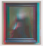 Anonymous Painting 3D #V2 GE_E204_01, inkjet on cotton, 45x40 inches, 2013